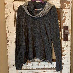 Free People Cowl Neck Long Sleeve Top
